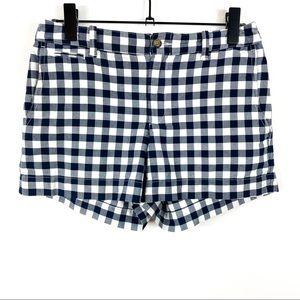Polo Ralph Lauren Checkered High Rise Shorts